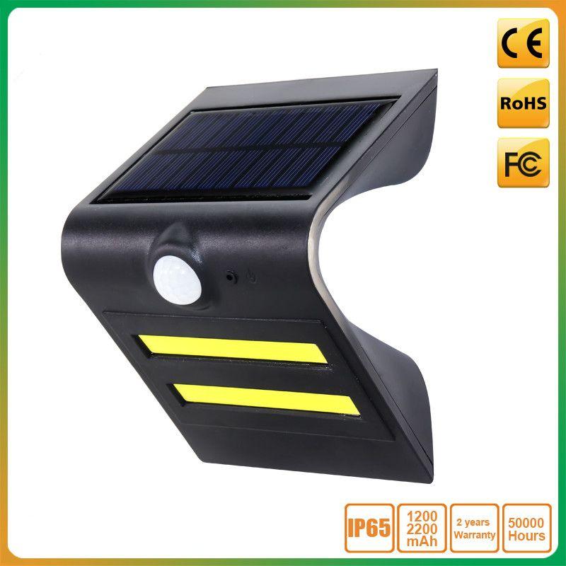 Led Brand Epistar Motion Angle Distance 120 8m Battery 3 7v 1200mah 2200mah Lithium Battery Lighting Time 14 16 Hours S Solar Lights Solar Outdoor Lighting
