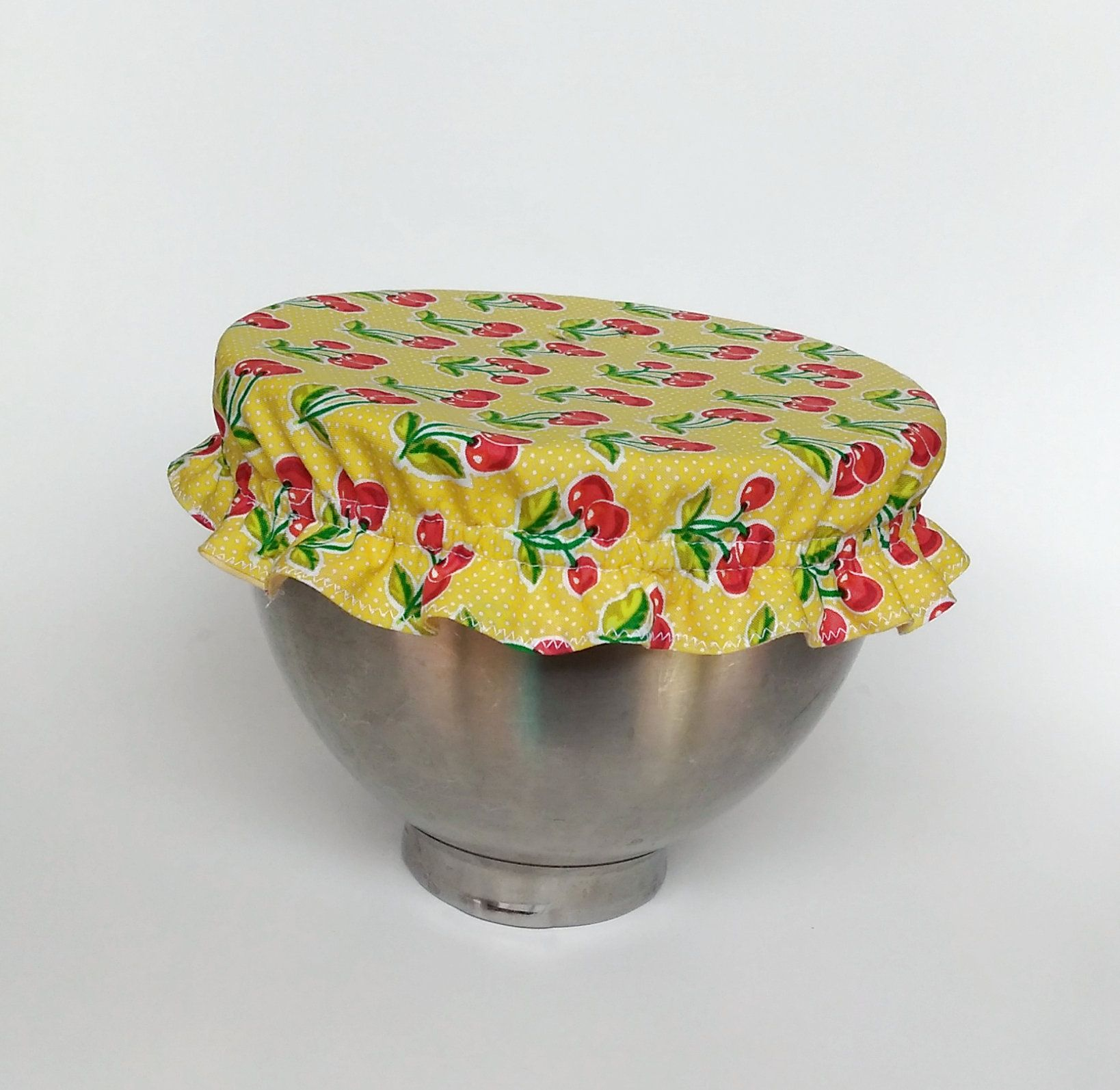 Bowl covers reusable stand mixer bowl cover cherry etsy
