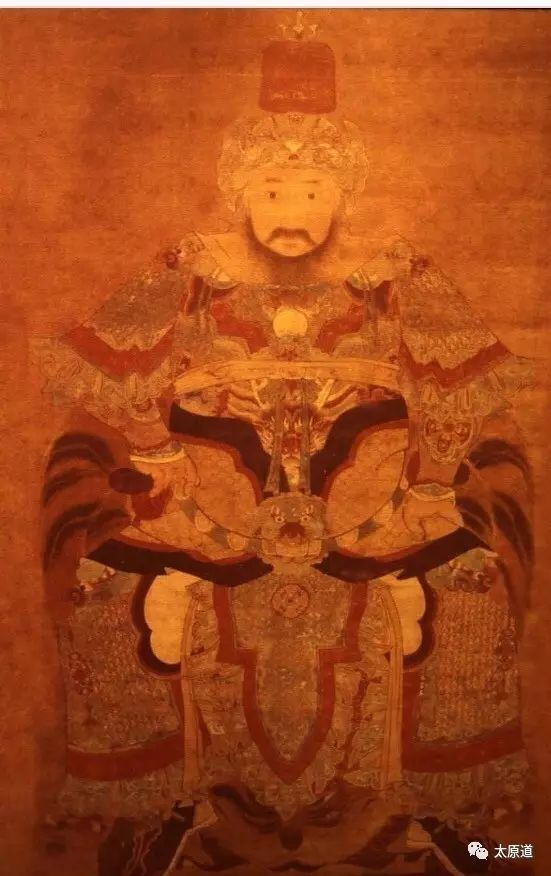 Some websites claim this is an old portrait of the eminent early Ming commander Xu Da...