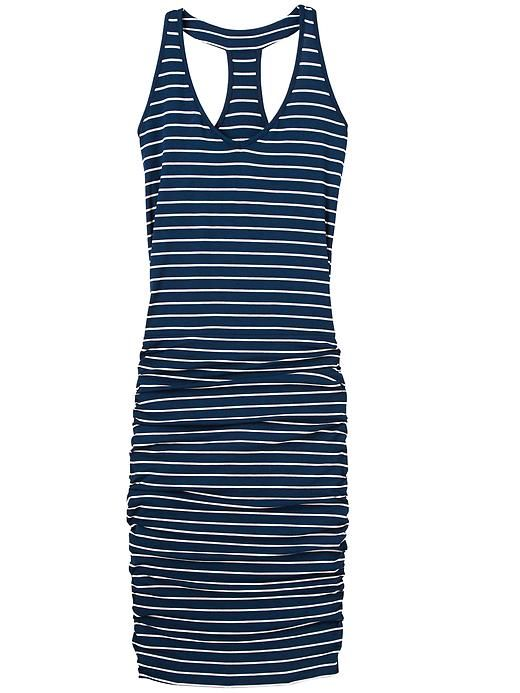 Striped Tee Racerback Dress. One of my Favorite summer dresses! So comfortable feels like I am in my pajamas... Yet looks amazing on!