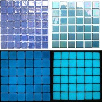 Glow In The Dark Gl Tile Samples