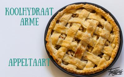 Koolhydraatarme appeltaart - Foodsisters slanke en snelle recepten