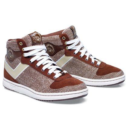 cf12adfff0e Pony City Wings Brown/Tan | Sneakers - Pony sneakers, Shoes en Mens ...