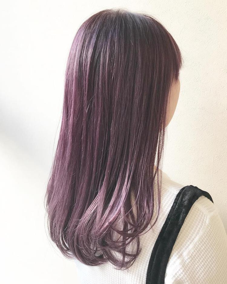 ラベンダーアッシュ Haircolor おしゃれまとめの人気アイデア
