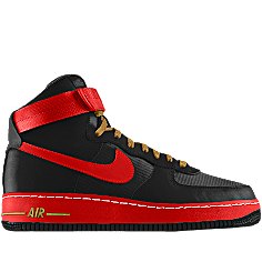 NIKEiD is custom making this Nike Air Force 1 High iD Men's Shoe for me.