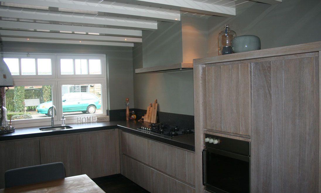 Grijs eiken keuken pinterest - Meubels studio keuken ...