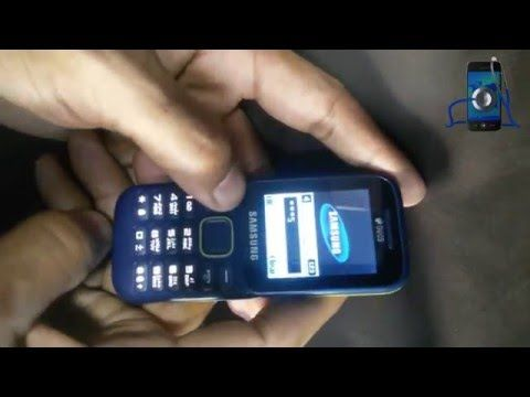 How To Remove Phone Lock Samsung SM B310E | Fun