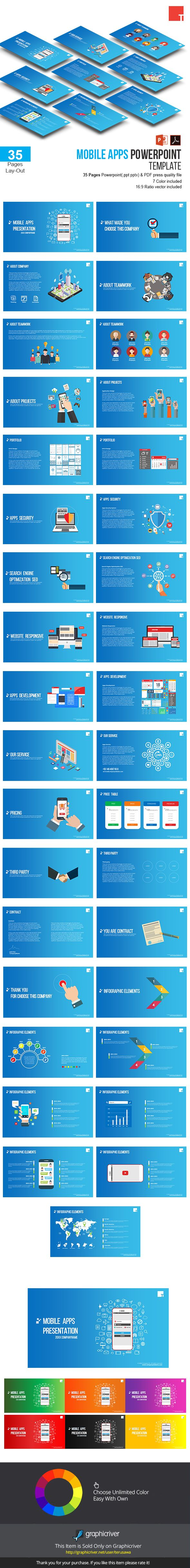 Mobile apps powerpoint template creative powerpoint templates mobile apps powerpoint template toneelgroepblik Choice Image