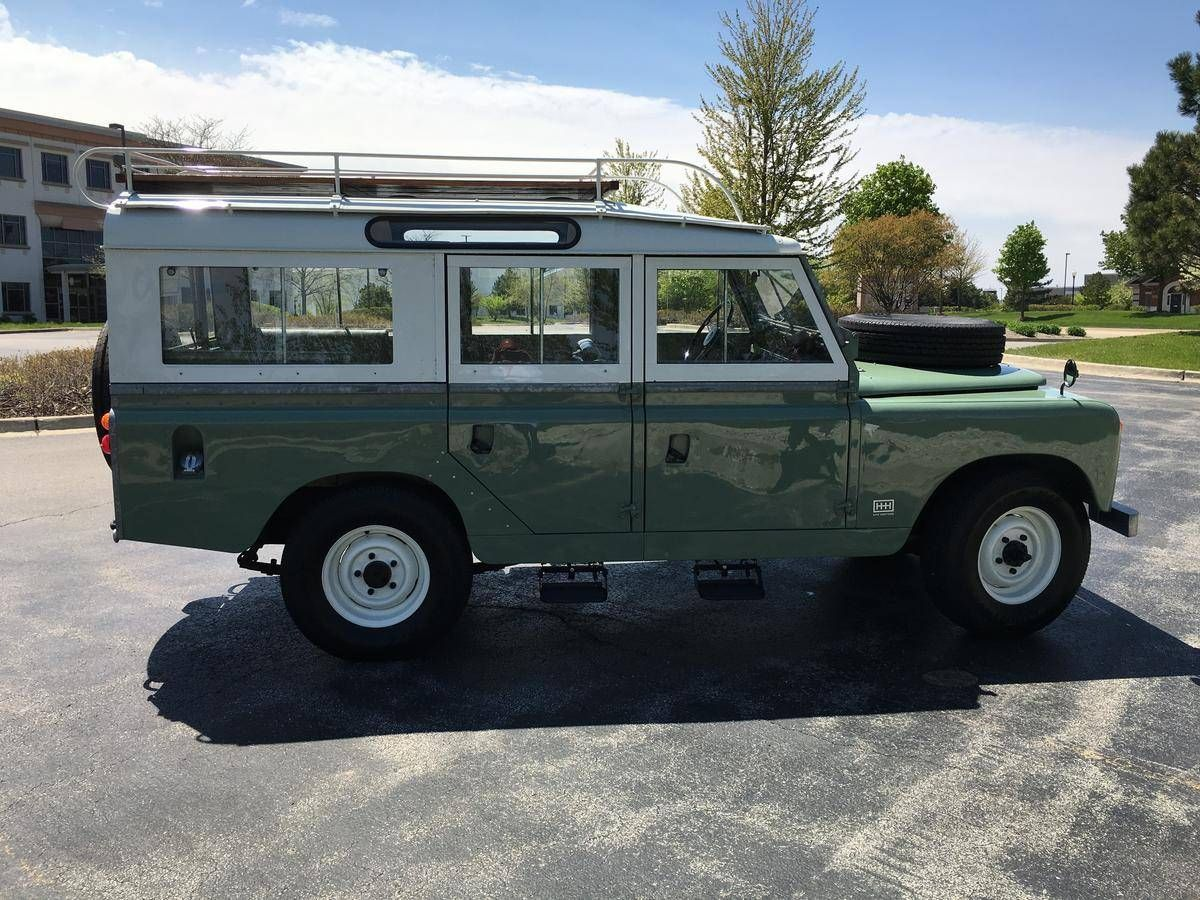 1965 land rover series 2a 109 for sale 1836072 hemmings motor news land rover pinterest. Black Bedroom Furniture Sets. Home Design Ideas