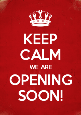 Keep Calm We Are Opening Soon Music Business Essentials In 2019