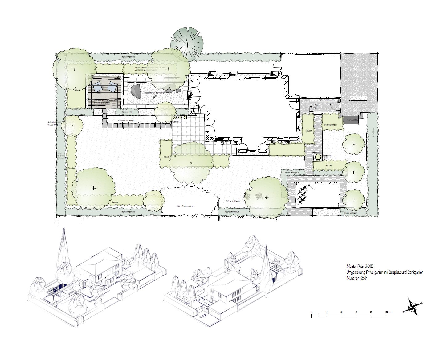 Plan Von München Garden Master Plan On The Drawing Boards Christiane Von