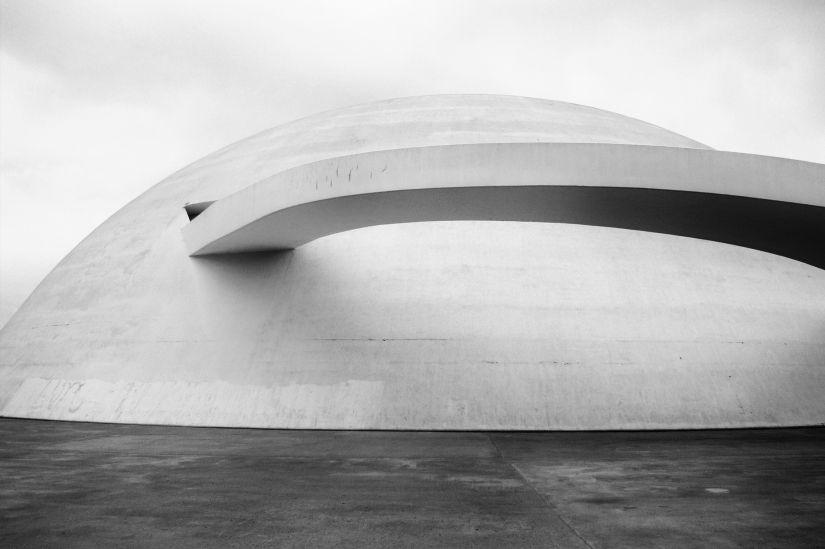 Museo de arte contemporaneo Brasilia de Oscar Niemeyer