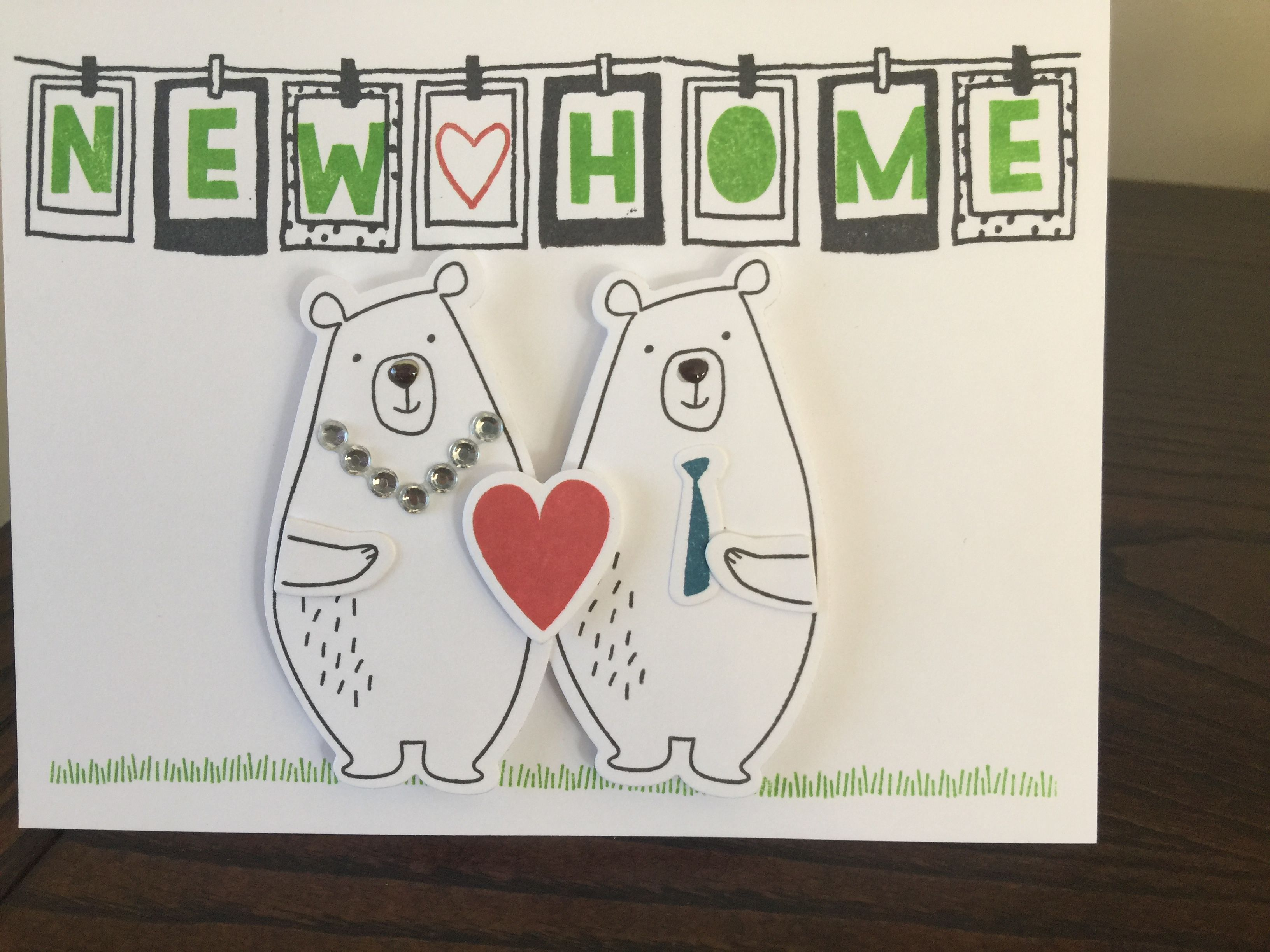 Welcome to your new home CTMH   Close To My Heart Cards   Pinterest ...