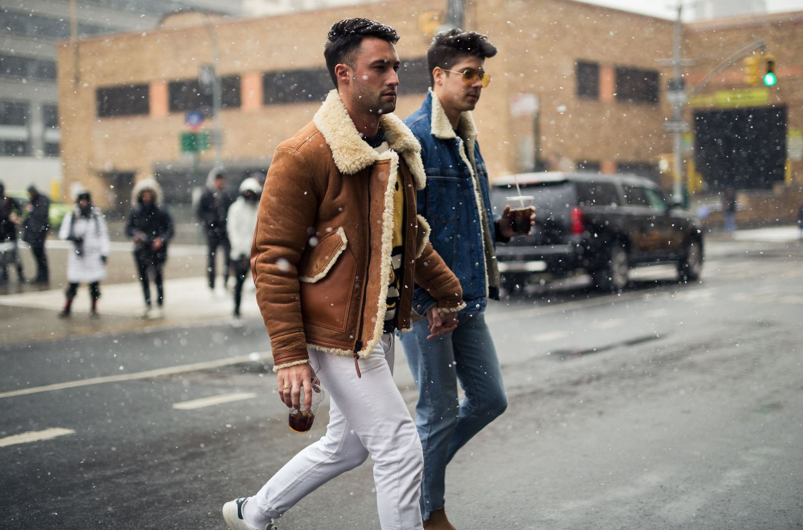 New York City, the last stop of the Men's weeks. After Paris and the Haute Couture week, fashionable guys are hitting the streets for a last time. Here is what we liked if we're talking…