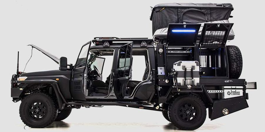Patriot Campers Lc79 Supertourer Off Road Utility Vehicle