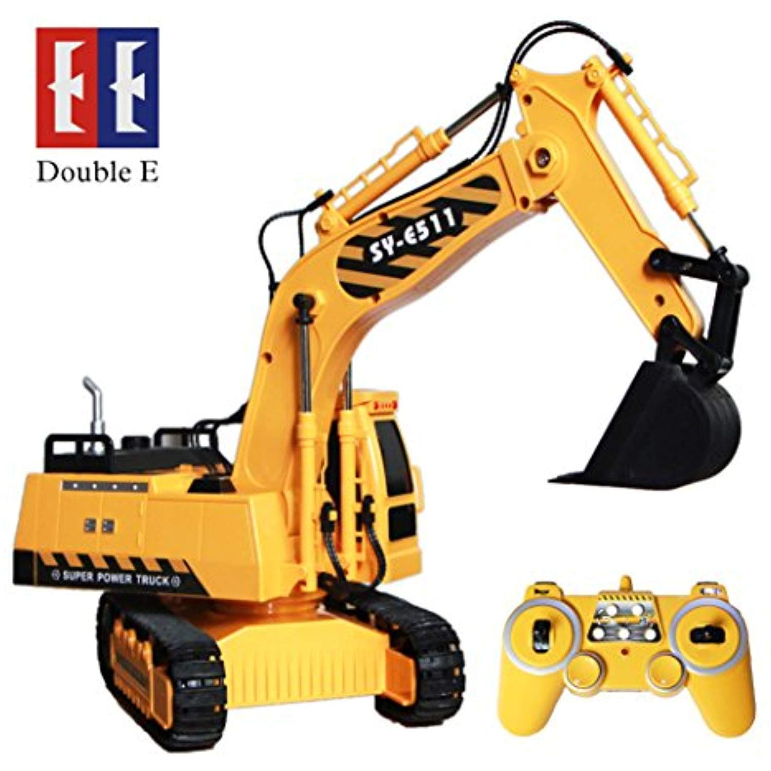 8 Channel Full Functional Rc Excavator Double E 1 20 Scale Rc