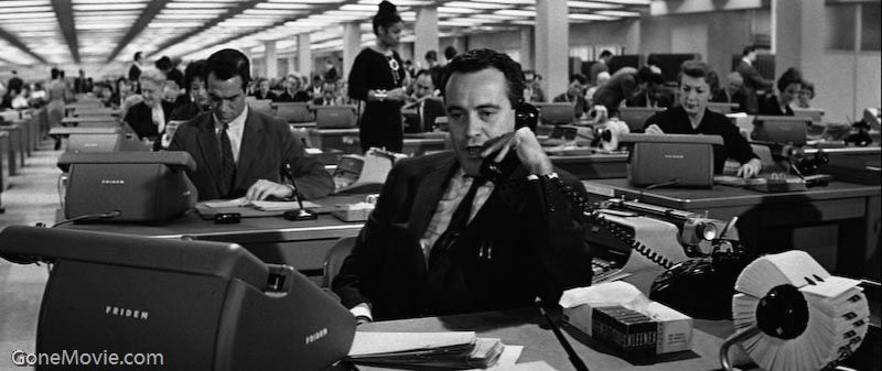 Jack lemmon negotiating for a better workspace billy for The apartment cast