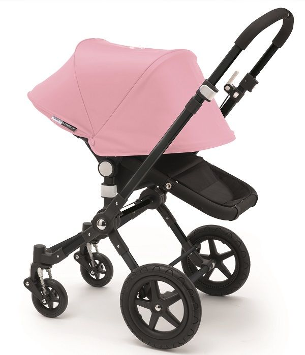 Bugaboo Cameleon 3 Stroller Extendable Canopy 2015 All Black / Soft Pink  sc 1 st  Pinterest & Bugaboo Cameleon 3 Extended Canopy | Bugaboo Special Edition ...