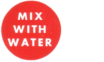 Mix With Water cut