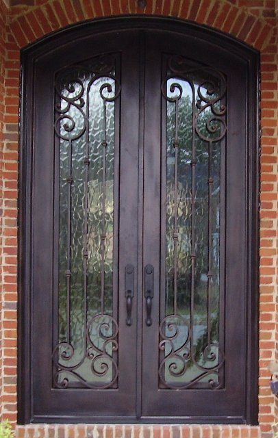 meyers decorative iron entry door | doors for lh | pinterest