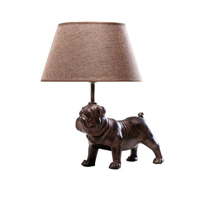 A fun doggy addition statment table light.