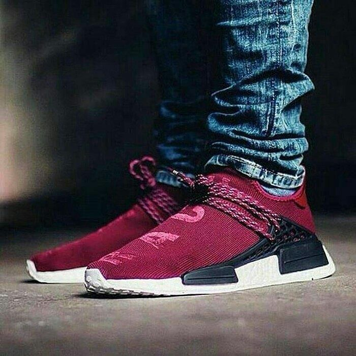 newest collection b7b50 11596 Adidas NMD XR1 Human Race Maroon Premium Quality Size = 36 ...
