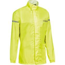 Photo of Ixon Compact Ladies Motorcycle Rain Jacket Yellow S Ixon