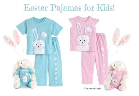 36e4f1856dc3e Adorable Easter Pajamas for Kids @chasing fireflies #Easter #Bunny ...