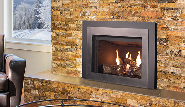 The Bellevue 32 Gas Fireplace Insert Is An Easy And Cost Effective