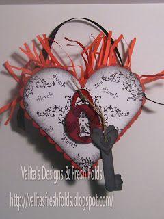 Valita's Designs & Fresh Folds: Valentine heart box made with Nestabilities dies