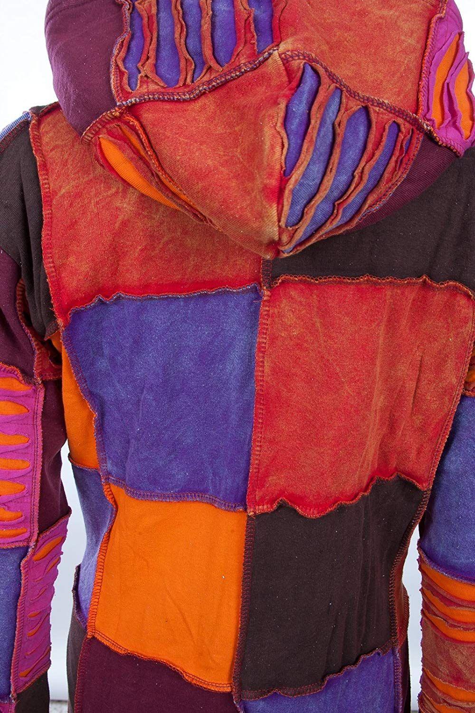 Michael Heinen Patchwork Mantel | Hippie Mantel | Model Long