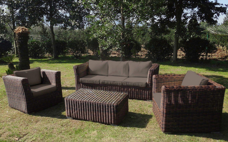 Baidani Loungeset Funky 14 Tlg 3er Sofa 2 Sessel Tisch 100x58x40 Cm Polyrattan Jetzt Bestellen Unter Https Loungemobel Garten Lounge Mobel Gartenmobel