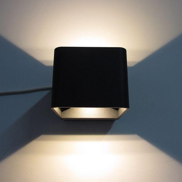 6w ip65 outdoor led wall bracket lightwall bracket light fitting