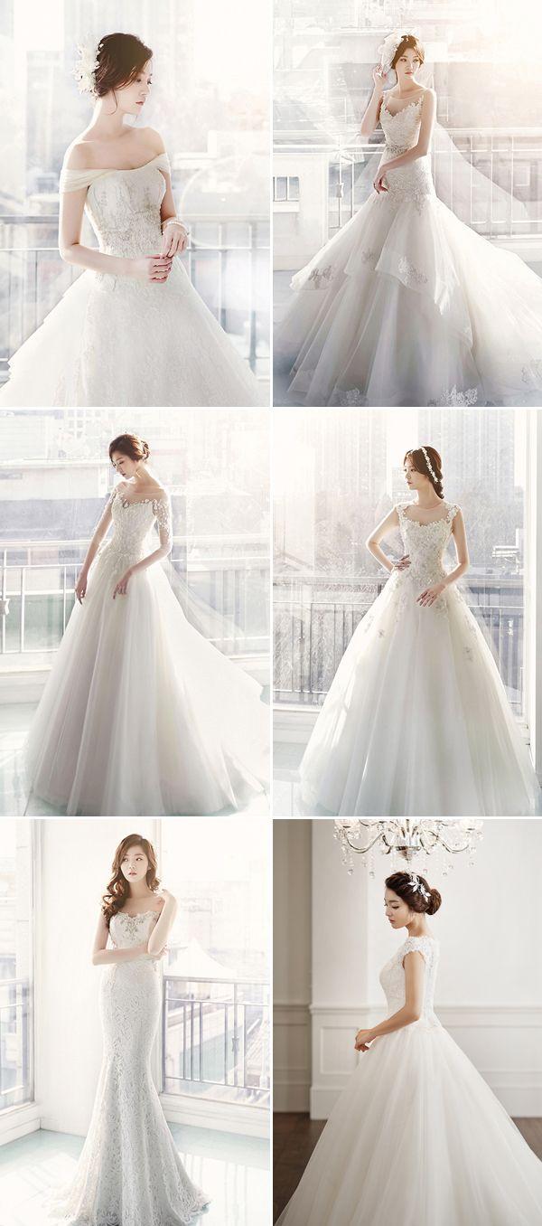 Dreamy Sophistication! Top 10 Korean Wedding Dress Brands ...