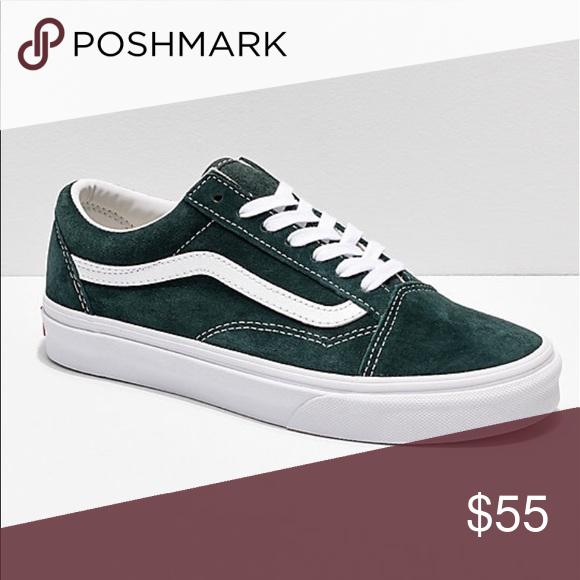 Vans Old Skool pig suede sneaker shoes