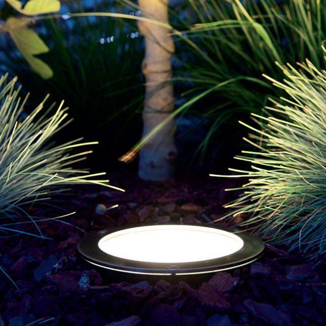 Pour l éclairage de l espace vert jardin Spot  enterrer pour
