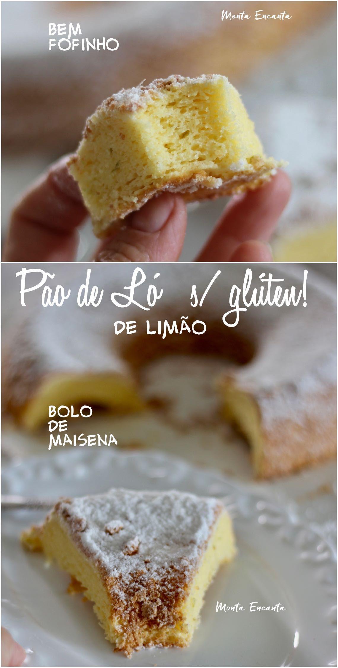Pao De Lo Sem Gluten De Limao Leve E Bem Fofinho Biscoitos