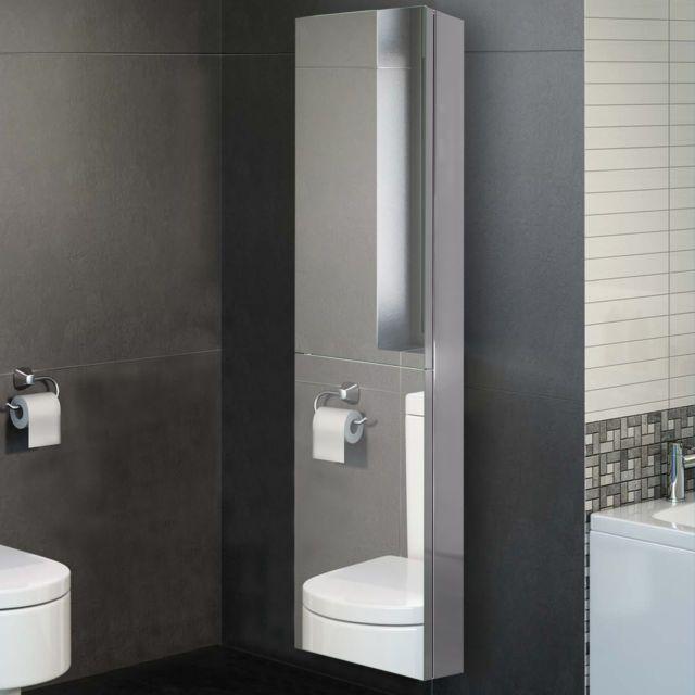 1300 X 300mm Tall Mirror Cupboad Unit Space Saving Mirrored Bathroom Cabinet Bathroom Mirror Cabinet Bathroom Cabinets For Sale Space Saving Bathroom