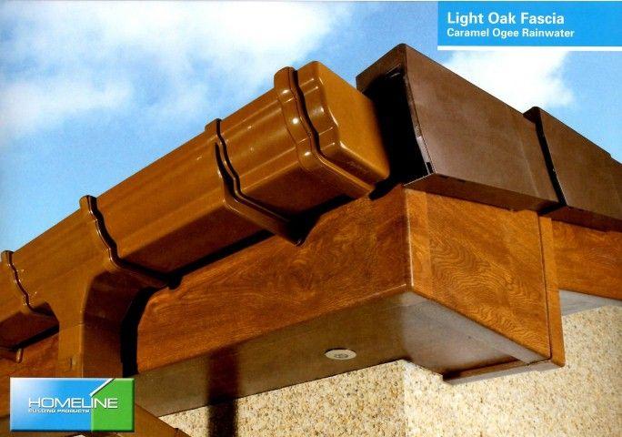 Light Oak Fascia Board Caramel Ogee Rainwater Fascia Board Fascia Light Oak