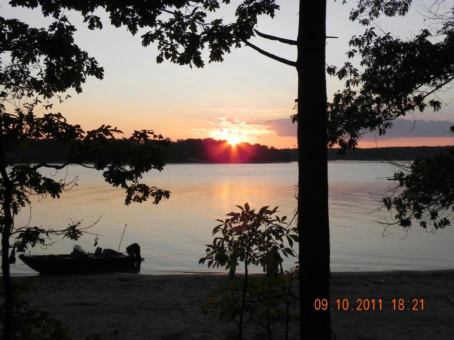 Our camping trip with the family on Jordan lake near ...