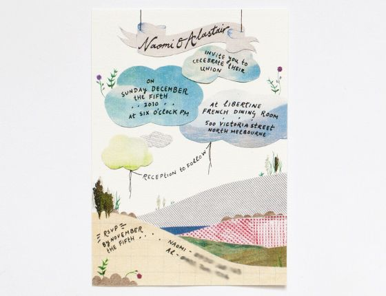 Explore Map Wedding Suite And More Hand Painted Mountain Picnic Invitation