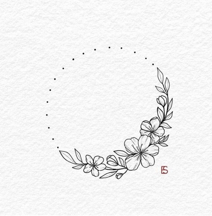Autour de mon nombril #belly button #my #buddy #floralembroidery Autour de mon ventre …   – Bullet journal