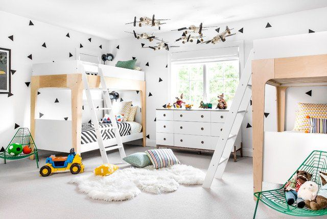 16 Playful Contemporary Kids\' Room Designs To Give Comfort To Your ...