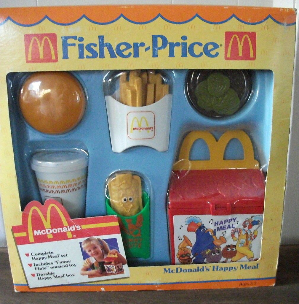 Fisher price fun with food mcdonald 39 s happy meal 2155 - Cuisine bilingue fisher price ...