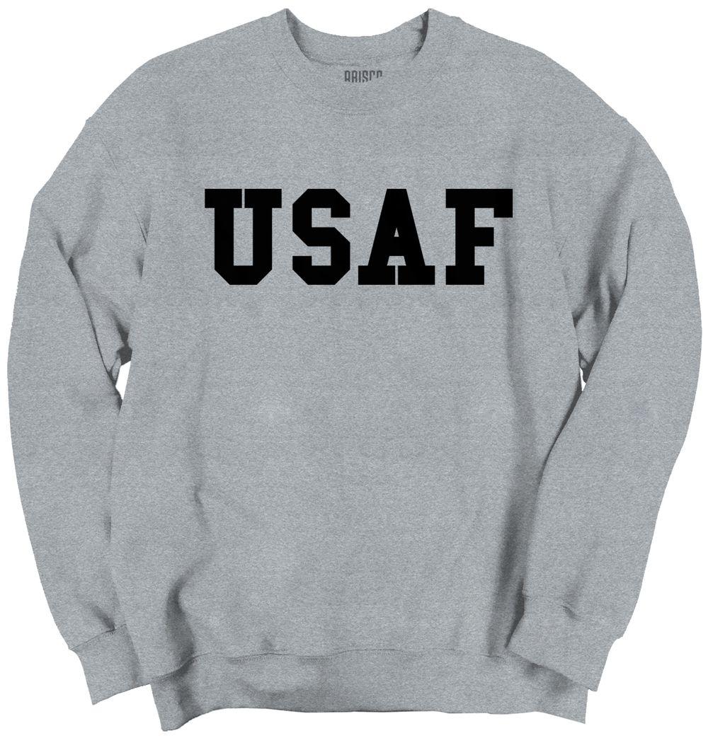 Usaf Logo Crewneck Sweatshirt [ 1043 x 1000 Pixel ]
