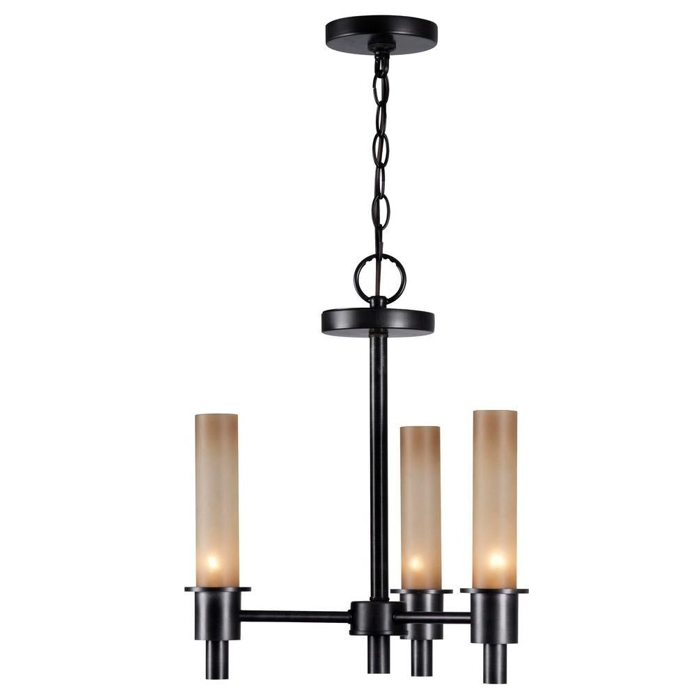 World Imports Dunwoody 3-Light Oil Rubbed Bronze Chandelier-WI687288 at The Home Depot Living room $60