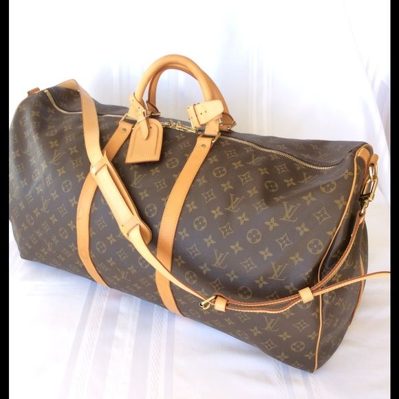 bca215a6 authentic Louis Vuitton Keepall 60 Bandouliere pre owned Vintage ...
