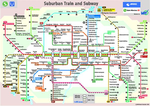 nice Munich Metro Map Travelquaz Pinterest Munich Subway map