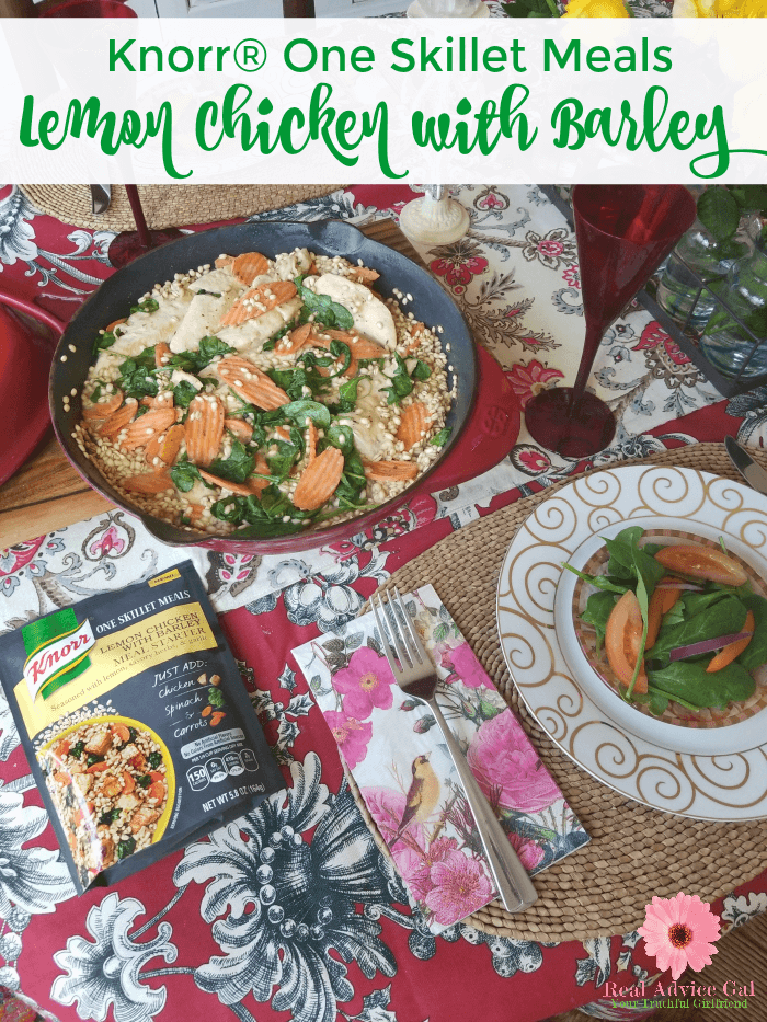 Knorr One Skillet Meals Are Super Easy To Make You Have To Try