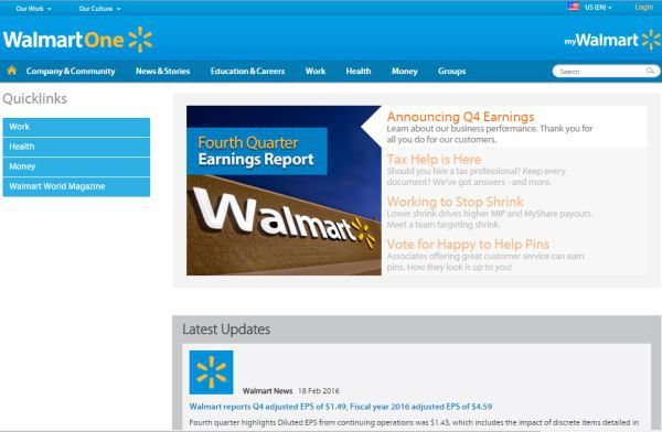 Walmart Associate Login WalmartOne for online payroll